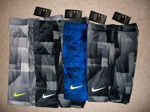 NWT Nike Dry Boys Size S Dri Fit Training Shorts Unstretched Waist 23