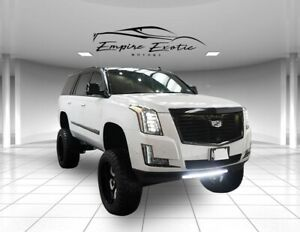 2017 Cadillac Escalade Platinum Edition 2017 Cadillac Escalade Crystal White Tricoat with 25662 Miles available now!