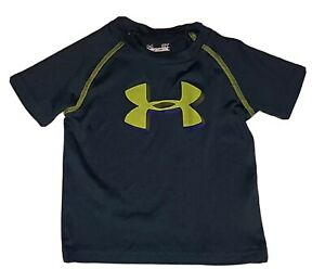 Boys Toddler Under Armour Short Sleeve  Heat Gear T-Shirt Size 2T