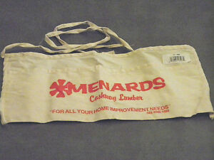 NEW CARPENTERS NAIL APRON FROM MENARDS HOME IMPROVEMENT CENTER ADVERTISING PROMO
