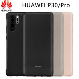 Original PU Leather Flip Case For Huawei P30 Pro Sleep Wake Up Card Wallet Cover