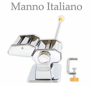 NEW Deluxe Metal Pasta Maker and Cutter - Make Perfect Pastas from Scratch