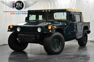1996 AM General Hummer H1  Low Miles 4 dr SUV Automatic Diesel 6.5L 8 Cyl GREEN
