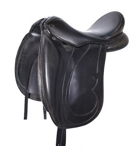 17.5'' TOULOUSE ALISSA DRESSAGE SADDLE (SO20855) GOOD CONDITION! - XVD