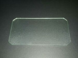 Kenmore over the range microwave glass light cover lens 8184141. 5-1/8