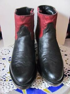 Ash Italia Handmade Mexican Western Booties Brand New All Genuine Leather Sizes $65.00