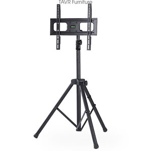 Flat Panel TV Tripod Portable Foldable TV Stand with Mount for 32