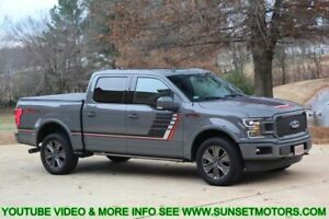 2018 F-150 LARIAT SPECIAL 2018 FORD F150 Lariat Special Edition Technology pkg Ecoboost 4WD Lead Foot Ship