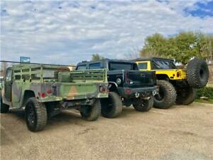1988 AM General HUMVEE H1 H1 Humvee M988 Truck Camo with 4004 Miles available n