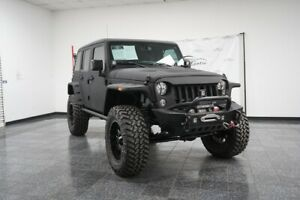 2015 Wrangler Unlimited SUPERCHARGED STARWOOD CUSTOM Fastback! 2015 Jeep Wrangler Black Clearcoat with 6309 Miles available now!