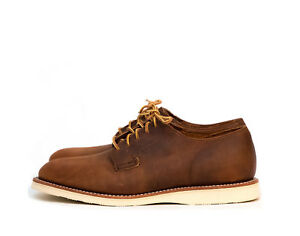 Red Wing Postman Oxford Copper Leather sizes UK 8 9 10 Brand New RRP €290 GBP 225.00