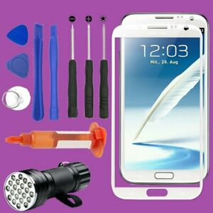 For Samsung Galaxy Note 2 Front Screen Glass Lens Replacement Repair Tool Kit