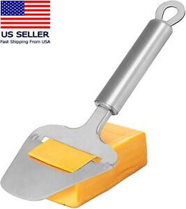 Cheese Slicer Stainless Steel 9.3 In Heavy Duty Plane Cheese Knife Cheese Cutter