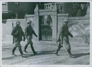 Swedish military at the forefront of the Danish Company. 8x10 photo
