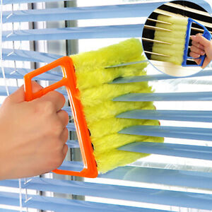 Microfibre Venetian Blind Cleaner Window Conditioner Duster Clean Brush Band