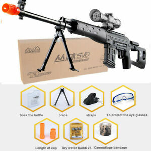 Rifle Soft Bullet Water Gun Plastic Toys Sniper Pistol Paintball Outdoor Gifts