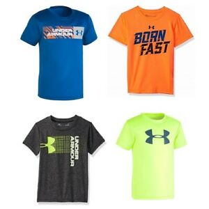 New Under Armour Little Boys Graphic Print T-Shirt SIZE 234567 MSRP:$25.00