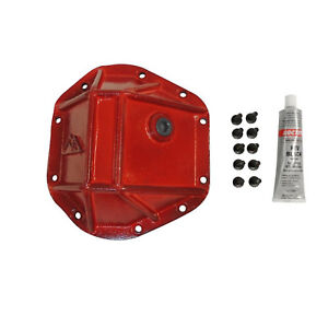 Crown RT Off-Road Dana 44 Differential Cover; Red Powder Coat