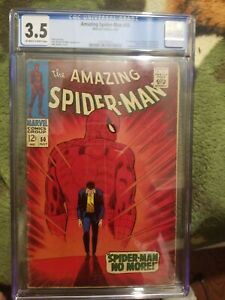 The Amazing Spider-Man #50 CGC 3.5 -  FIRST KINGPIN!!! CLASSIC COVER