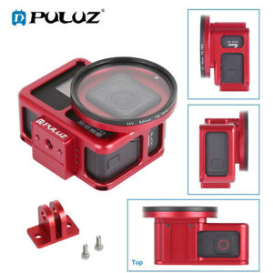 PULUZ for GoPro HERO7 Black 65 Housing Shell Protective Cage w Insurance Frame