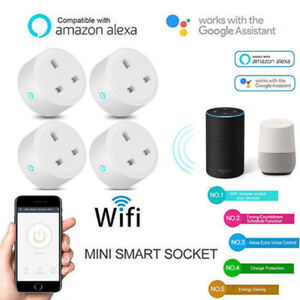 14Pack Smart Power Socket Wifi Wireless Mini Switch Remote Control Timer Outlet