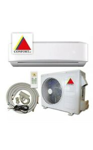12000 BTU System Ductless Air ConditionerHeat Pump Mini split 110V 1 Ton w kit
