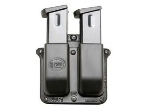 Fobus Belt Double Magazine Pouch Double-Stack 9mm Luger, 40 S&W Polymer 6909NDBH