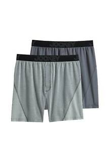 Jockey Mens No Bunch Boxer - 2 Pack