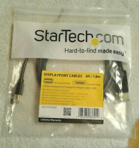 3-6ft Mini Display Port to Display Port Adapter Cables MM StarTech New In Bag