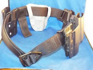 Wilderness Tactical Prod Belt Size 42 w/ 5 Gun Holsters Fobus Uncle Mike Tek-Lok
