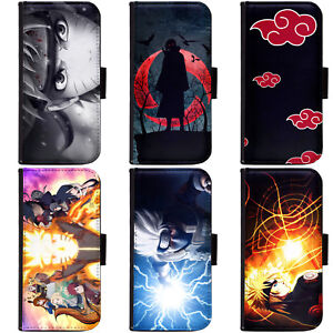 PIN-1 Anime Naruto Collection Phone Wallet Flip Case Cover for Huawei