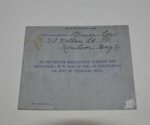 Bruce Lee Autograph Letter  Very Scarce Bruce Lee Signed Letter  Bruce Lee