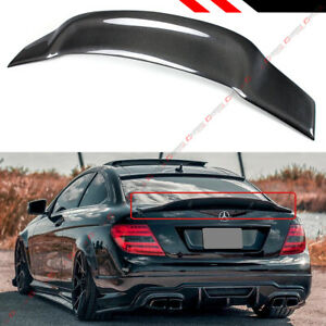 FOR 08-14 MERCEDES BENZ W204 C250 C300 CARBON FIBER DUCKBILL TRUNK SPOILER WING
