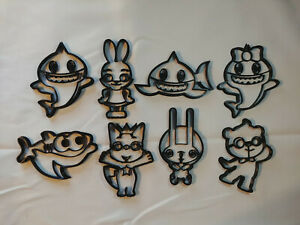 Baby Shark Cookie Cutters