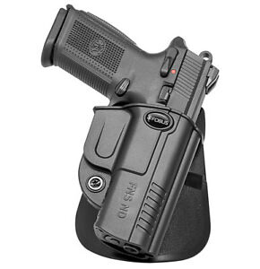 Fobus FNS ND Paddle Concealed Carry Holster FNS9 & FNS40, Full Size and Compact