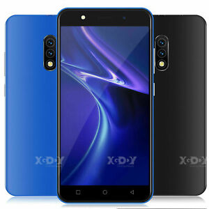 Android 7.0 Unlocked Touch Cell Phone Quad Core 2 SIM 3G GSM T-Mobile Smartphone