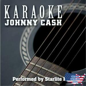 Karaoke: Johnny Cash, New, Free Ship