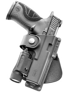 Fobus EM17 Paddle Tactical Holster Smith & Wesson M&P 9mm, .45cal Full Size