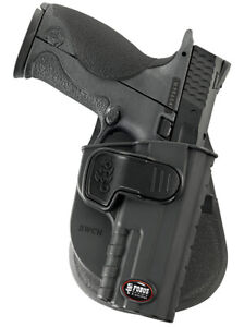 Fobus SWCH Paddle Concealed Carry Right Hand Holster FNS9, Full Size Only