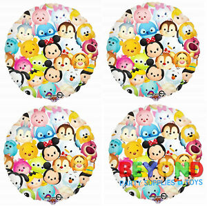 Disney Tsum Tsum Happy Birthday Party Mylar Foil Balloon 18
