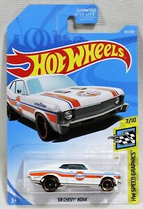 Hot Wheels - HW Speed Graphics - '68 Chevy Nova - 2nd Color - #67/250 (2019)