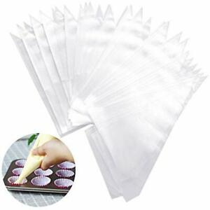 200 Pcs Disposable Pastry Bag Cake Decorating Icing Piping Kitchen