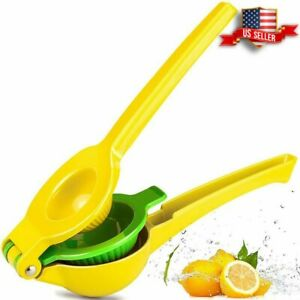 Clearance Chefbar Quality Metal Lemon Lime Squeezer Manual Citrus Press Juicer