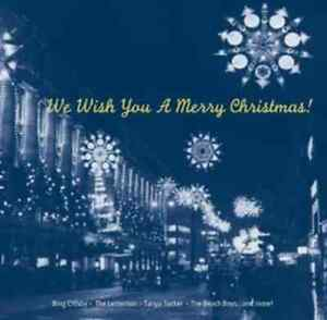 We Wish You A Merry Christmas! NEW CD