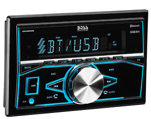 BOSS 820BRGB Double 2 DIN Bluetooth In Dash Digital Media Car Stereo Receiver $42.90