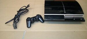 Sony Playstation 3 PS3 Fat 80GB System Console Only CECHH01