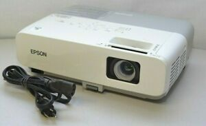 Epson PowerLite 84 LCD Projector 2600 ANSI Lumens 1475 Used Lamp Hours