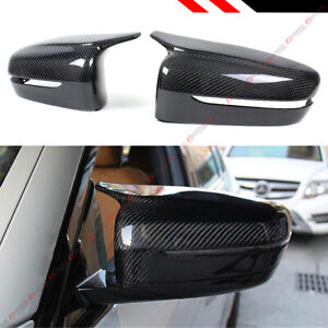 FOR 19 21 BMW G20 330i M STYLE HORN CARBON FIBER REPLACEMENT SIDE MIRROR COVERS $149.99