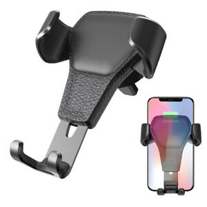 Gravity Car Mount Phone Holder Air Vent for iPhone X XR XS Max Galaxy S10 Note 9 $4.99