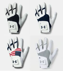Under Armour UA ISO-Chill Golf Glove Left Hand (3 Pack) - Pick Size